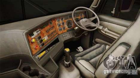 Freightliner Argosy 8x4 Hatsune Miku для GTA San Andreas вид изнутри