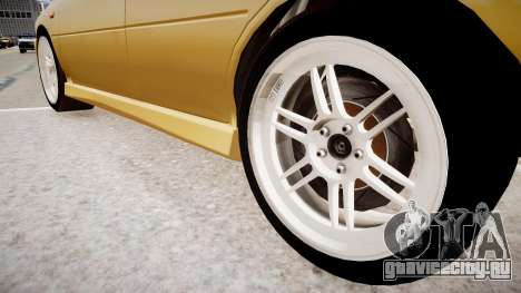 Subaru Impreza GC8 JDM Spec для GTA 4 вид сзади