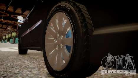 Peugeot 206 SD для GTA 4 вид сзади