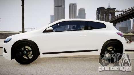 Volkswagen Scirocco Mk.III '08 Tune Final для GTA 4 вид сзади слева