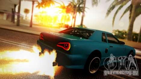 Elegy Hellcat 2.0 для GTA San Andreas вид слева