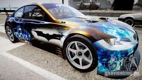 BMW M3 GT2 Ultimate Drift для GTA 4 вид справа