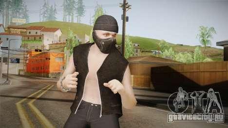 Bikers DLC Skin для GTA San Andreas