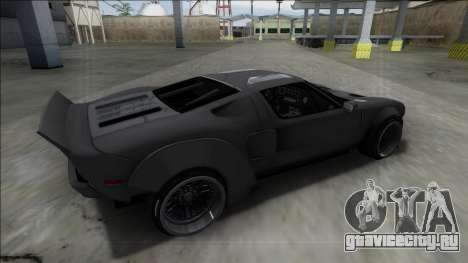 2005 Ford GT Rocket Bunny для GTA San Andreas вид слева