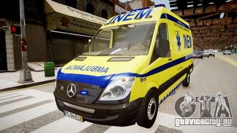 INEM Ambulance для GTA 4