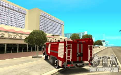 КАМАЗ 6520 для GTA San Andreas вид сзади слева