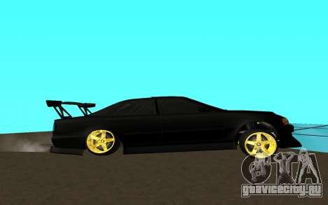 Toyota Chaser JZX 100 для GTA San Andreas вид слева