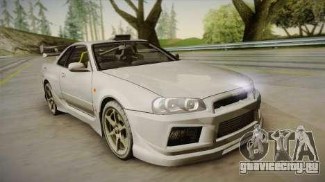 Nissan Skyline Tunable Pro Street для GTA San Andreas вид сбоку