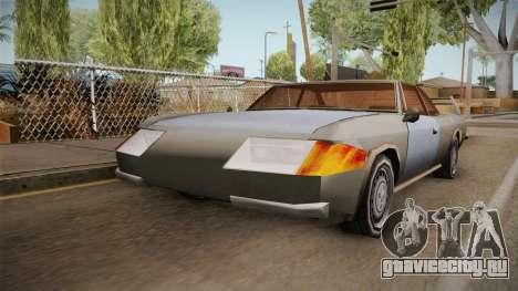 Declasse Shark для GTA San Andreas вид сзади слева