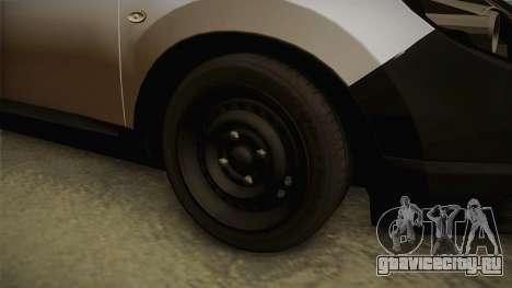 Nissan Qashqai для GTA San Andreas вид сзади