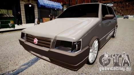 Fiat Uno Way 17 Fixa для GTA 4 вид справа