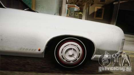 Mafia 3 - Samson Storm для GTA San Andreas вид сзади слева