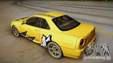Nissan Skyline Tunable Pro Street для GTA San Andreas колёса