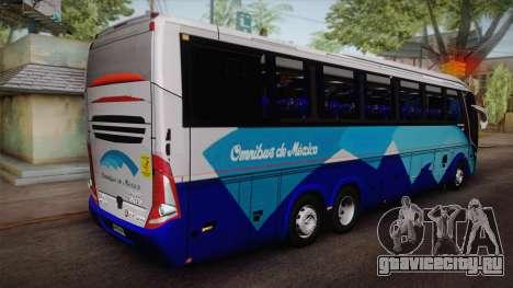 Volvo Omnibus de Mexico для GTA San Andreas вид слева