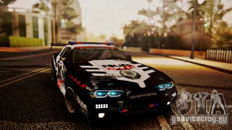 Elegy Hellcat 2.0 для GTA San Andreas двигатель