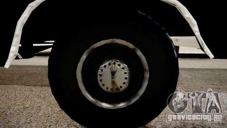 GMC 454 Pick-Up для GTA 4 вид сзади