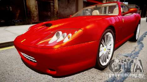 Ferrari 575M Maranello для GTA 4 вид справа