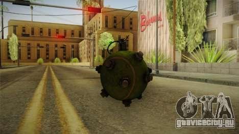 Tenisball Granade 1.0 для GTA San Andreas второй скриншот