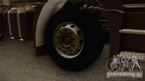 Iveco EuroTech 400E34 Tractor 6x4 v3.1 Final для GTA San Andreas вид сзади