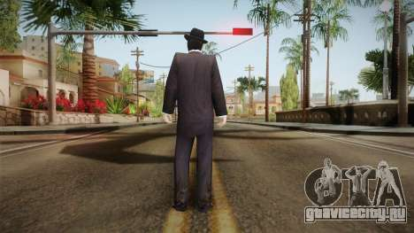 Al Capone Low Poly для GTA San Andreas третий скриншот