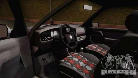 Volkswagen Golf Mk3 Stock для GTA San Andreas вид справа