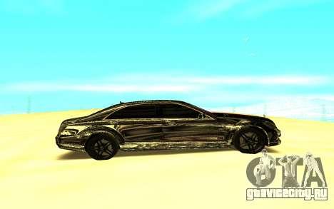 Mercedes-Benz S-class W221 для GTA San Andreas вид слева