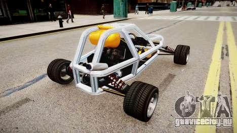 Sprinter Car Beta для GTA 4 вид сзади слева