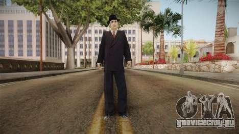 Al Capone Low Poly для GTA San Andreas второй скриншот