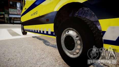 INEM Ambulance для GTA 4 вид сзади