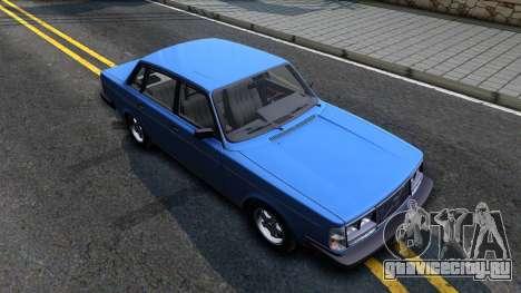 Volvo 244 Turbo 1983 для GTA San Andreas вид справа
