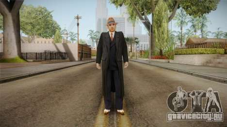 Mafia - Thomas Angelo Coat для GTA San Andreas второй скриншот