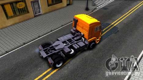 КамАЗ 5460 для GTA San Andreas вид сзади