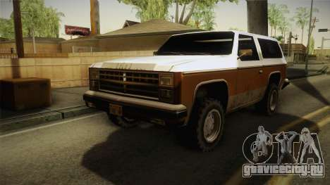 Chevrolet Blazer K5 Rancher Style для GTA San Andreas вид справа