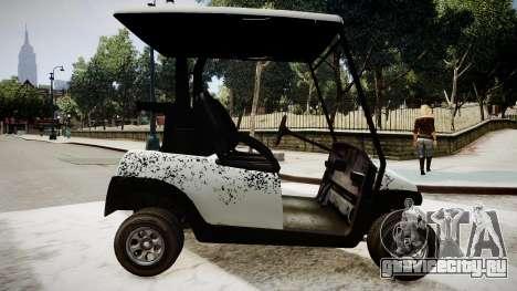 Golf Car - New Logo для GTA 4 вид слева