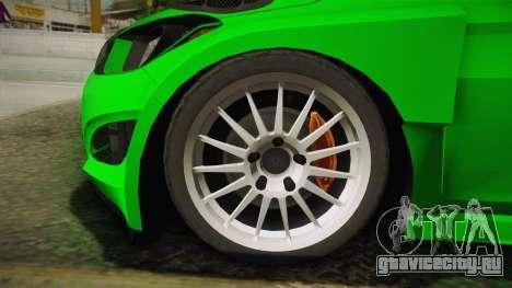 Hyundai i20 WRC 2013 для GTA San Andreas вид сзади слева