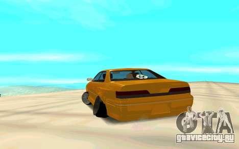 MarkJzx100Audi для GTA San Andreas вид сзади слева