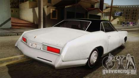 Mafia 3 - Samson Storm для GTA San Andreas вид слева