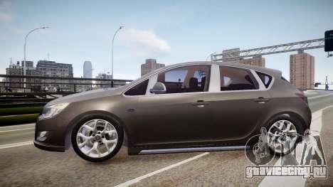 Opel Astra Senner для GTA 4 вид слева