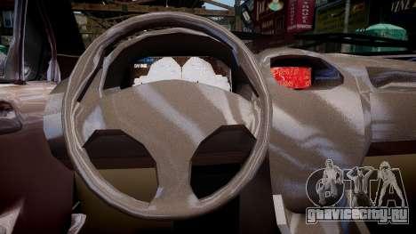 Peugeot 206 SD для GTA 4 вид изнутри