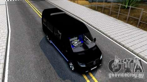 Mercedes-Benz Sprinter для GTA San Andreas вид справа