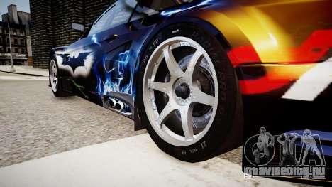 BMW M3 GT2 Ultimate Drift для GTA 4 вид сзади