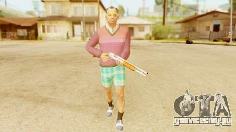 GTA 5 Trevor Fashion для GTA San Andreas