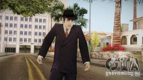 Al Capone Low Poly для GTA San Andreas