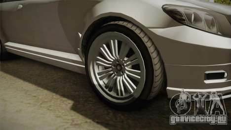 GTA 5 Benefactor Schafter Wagon для GTA San Andreas вид сзади