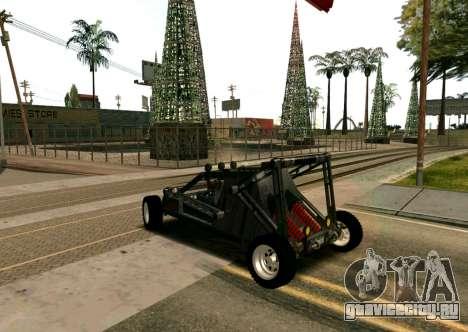 Off Road Car для GTA San Andreas вид слева