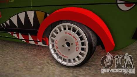 Volkswagen Golf Mk1 GTI 16v ITB v1.0 для GTA San Andreas вид сзади