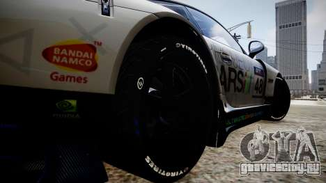 Porsche 911 GT3 Project CARS для GTA 4 вид сзади
