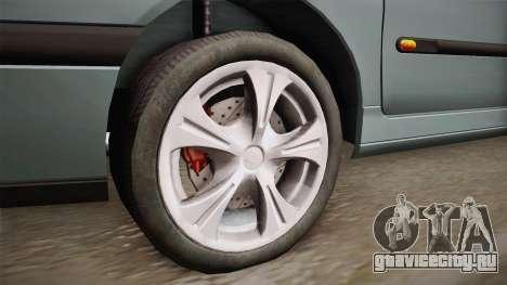 Renault Laguna для GTA San Andreas вид сзади