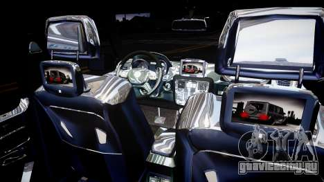 Mercedes-Benz G65 для GTA 4 вид изнутри