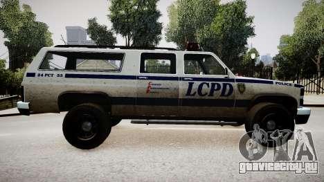 Declasse Police Ranger для GTA 4 вид слева